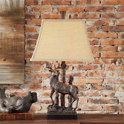 Deer Standing Table Lamp