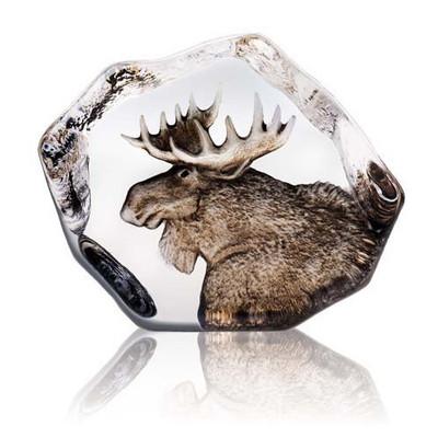 Moose Crystal Sculpture   33952
