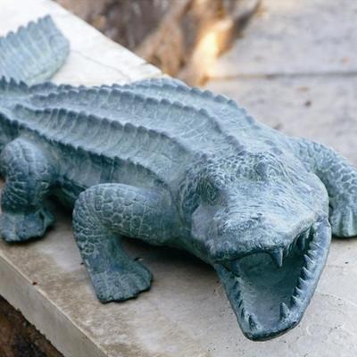 Mean Old Alligator Garden Sculpture | 30211