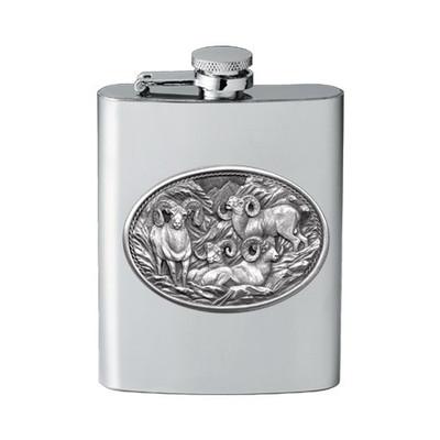 Bighorn Sheep Flask