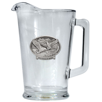 Bald Eagle USA Beer Pitcher