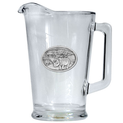 Rhino Beer Pitcher