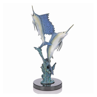 "Marlin-Sailfish Sculpture ""Islamorada Two Step"" 