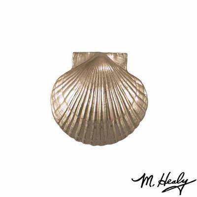 Bay Scallop Nickel Silver Door Knocker | MHS32