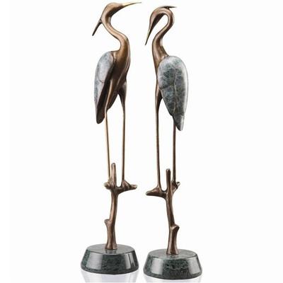 Wetlands Heron Pair Sculptures | 80154