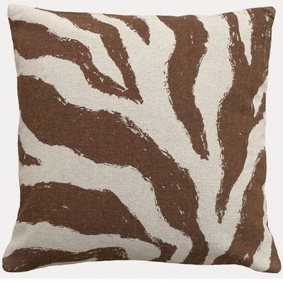 Zebra Linen Pillow