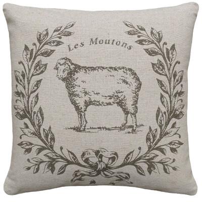 Sheep Linen Pillow