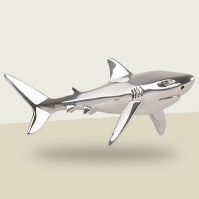 Shark Silver Plated Sculpture | A92