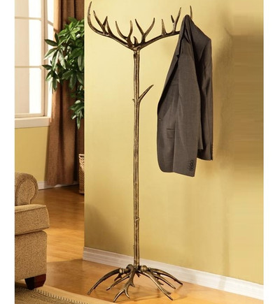 Faux-Antler Aluminum Coat Rack | 33785