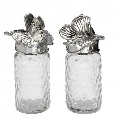 Butterfly Whimsical Salt Pepper Shakers