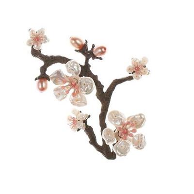 Cherry Blossom Pin | Nature Jewelry