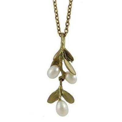 Boxwood Petite Pendant | Nature Jewelry