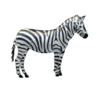 Zebra Cloisonne Pin | Nature Jewelry