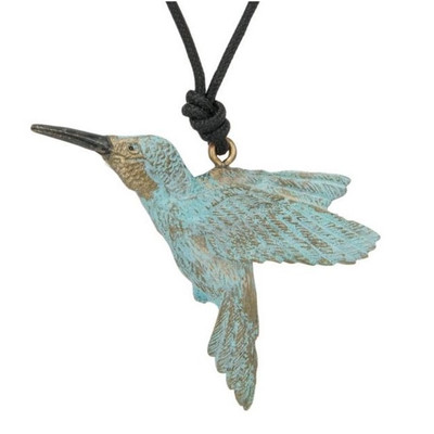 Hummingbird Pendant Necklace | Nature Jewelry
