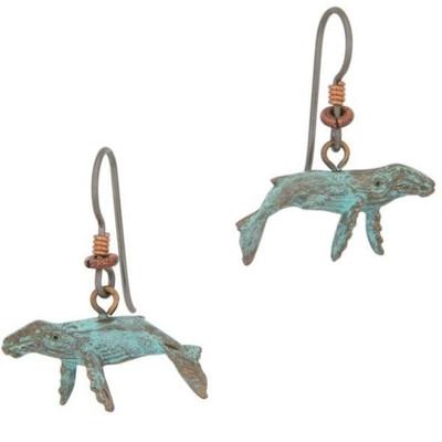 Humpback Whale Earrings | Nature Jewelry