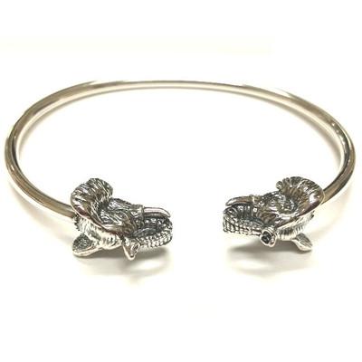 Elephant Sterling Silver Greek Bracelet | Nature Jewelry