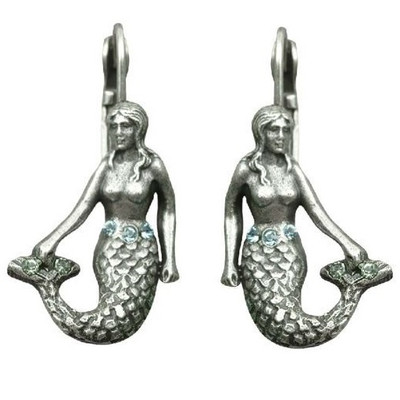 Mermaid Octopus Garden Earrings | Nature Jewelry