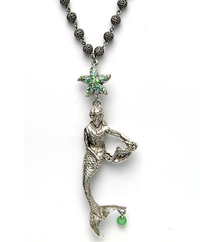 By the Sea Mermaid Necklace | Nature Jewelry