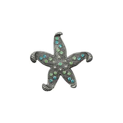 Starfish Embellished Pin | Nature Jewelry