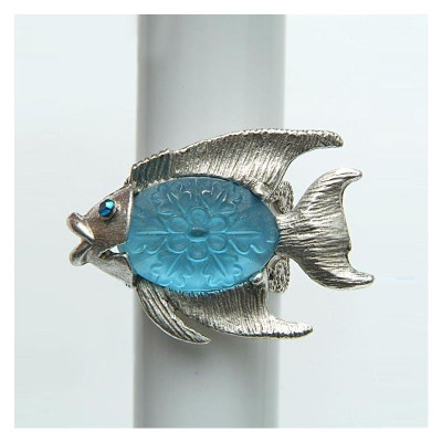 By the Sea Fish Ring | Nature Jewelry