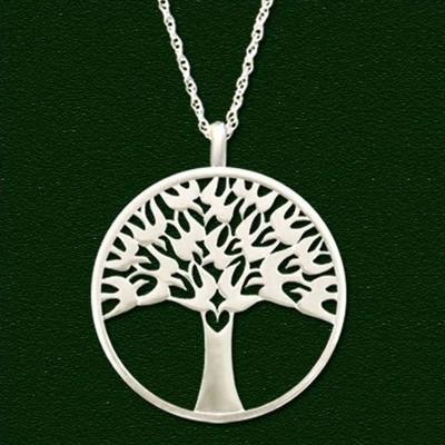 Arbor Vitae Pendant Necklace   Nature Jewelry