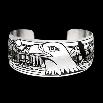 "Eagle Silver Bracelet ""Council Ground"" 