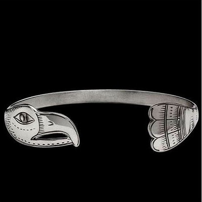 Eagle Sterling Silver Bracelet | Nature Jewelry
