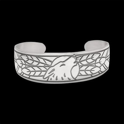 Wolf Sterling Silver Bracelet | Nature Jewelry