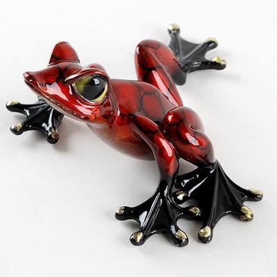 """Frog Bronze """"Alysa"""" Sculpture"""