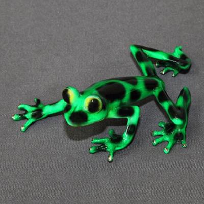 """Frog Bronze Sculpture """"Angelina"""""""