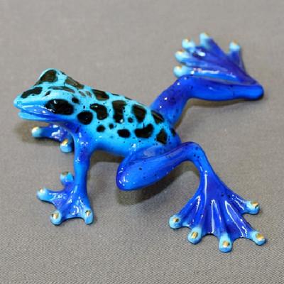 "Frog Bronze Sculpture ""Rebecca"""