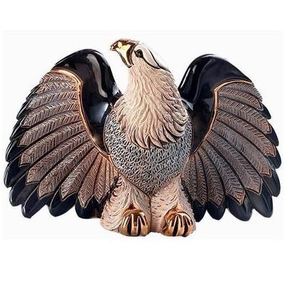 Bald Eagle Ceramic Figurine | Rinconada