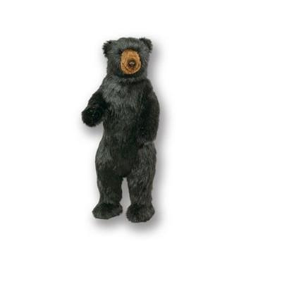 Standing 3 ft Black Bear Plush Stuffed Animal