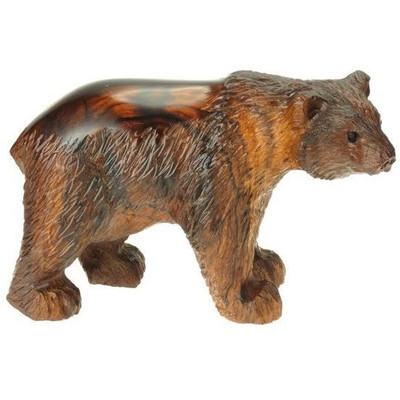 Polar Bear Ironwood Sculpture