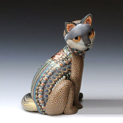 Cat Mama Figurine