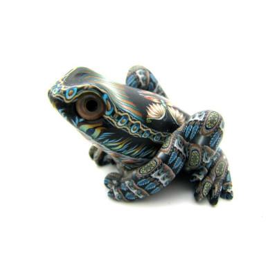 Frog Baby Figurine