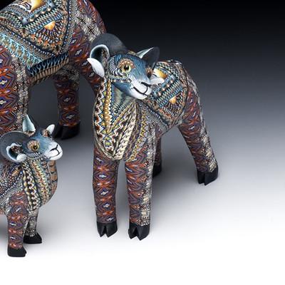 Ram Mama Figurine