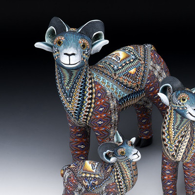 Ram Papa Figurine