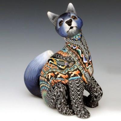Wolf Mama Figurine