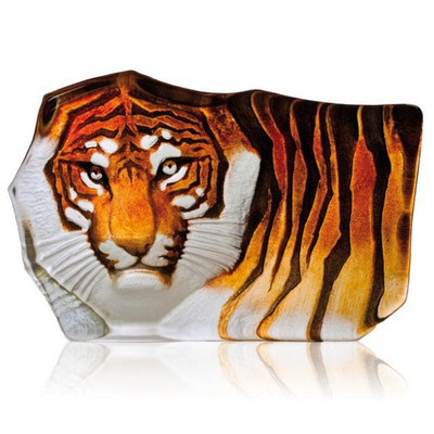 Large Tiger Crystal Sculpture Sculpture | 33851
