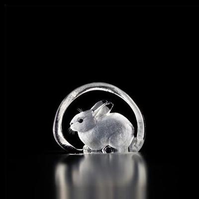 Mini Rabbit Crystal Sculpture | 88101