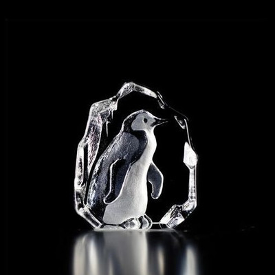 Mini Penguin Crystal Sculpture | 88113