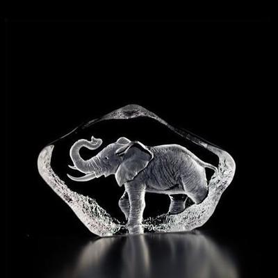 Mini Elephant Crystal Sculpture | 88144