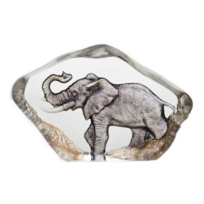 Elephant Mini Color Crystal Sculpture   88174