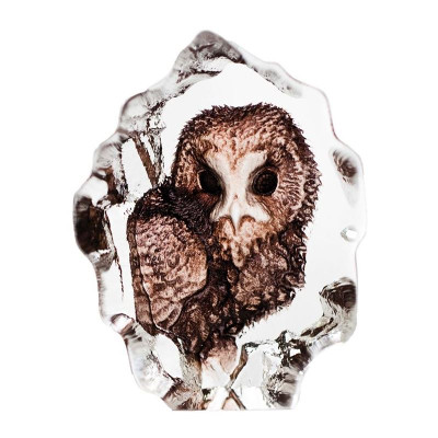 Owl Mini Color Crystal Sculpture | 88177