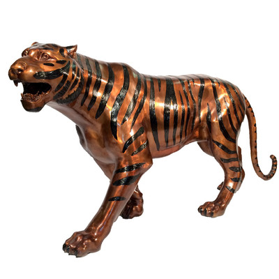 Tiger Bronze Outdoor Statue