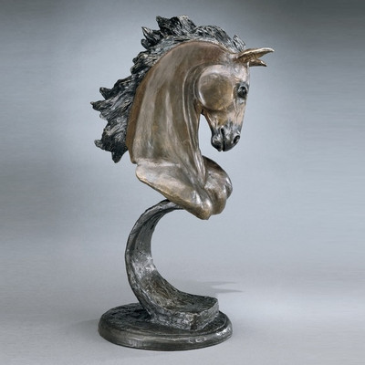 Stallion Bronze Horse Sculpture