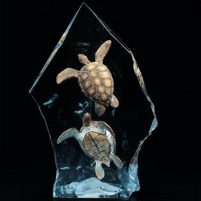 """Sea Turtle Sculpture """"Intrepid Spirit"""""""