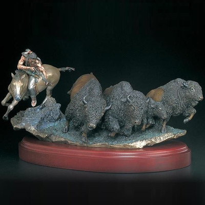 "Buffalo Sculpture ""As Things Were """