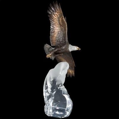 """Eagle Sculpture """"Cloud King"""""""
